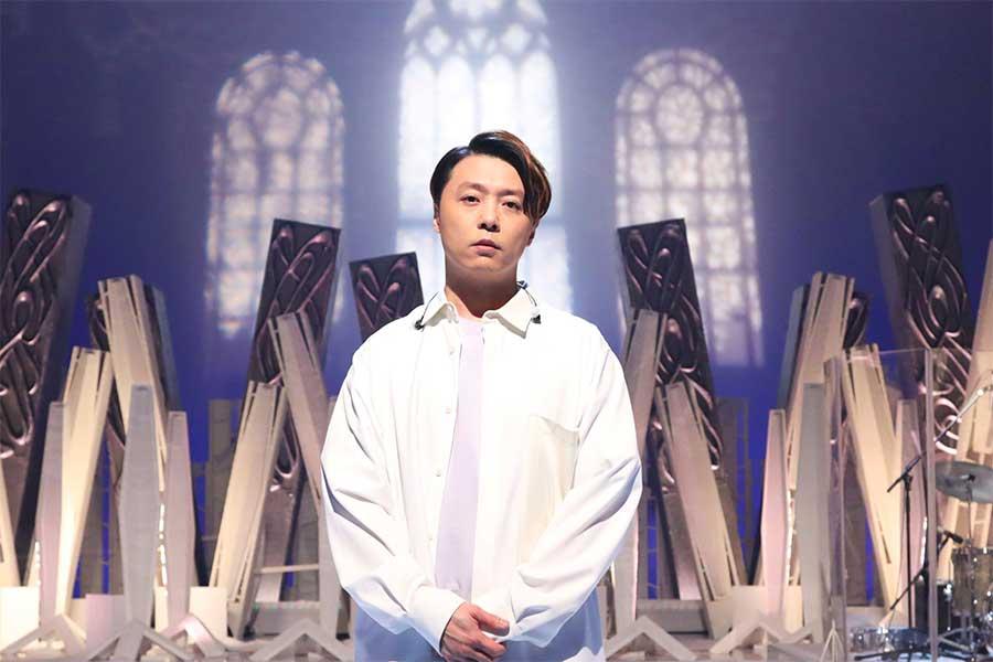 「SHIONOGI MUSIC FAIR」に出演する堂本剛【写真:(C)フジテレビ】