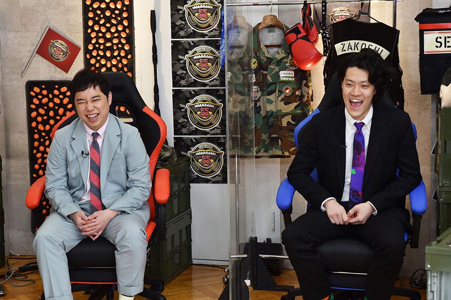 「霜降り明星の笑野行動」が6日午後11時から放送される【写真:(C)フジテレビ】