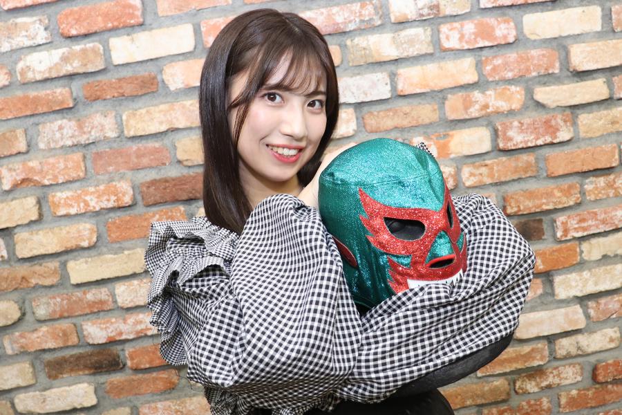 """SKE48新章、荒井優希が""""個性が大切な時代""""に決意したプロレス挑戦「100%自分の意志」"""