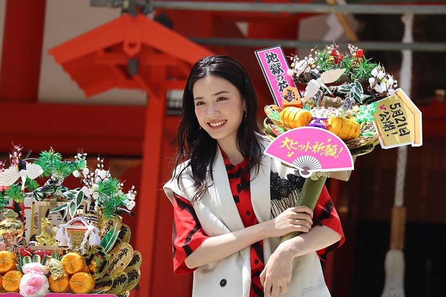 永野芽郁、主演映画を熱烈PR 「凶暴な私は、きっとこの作品でしか見られない」