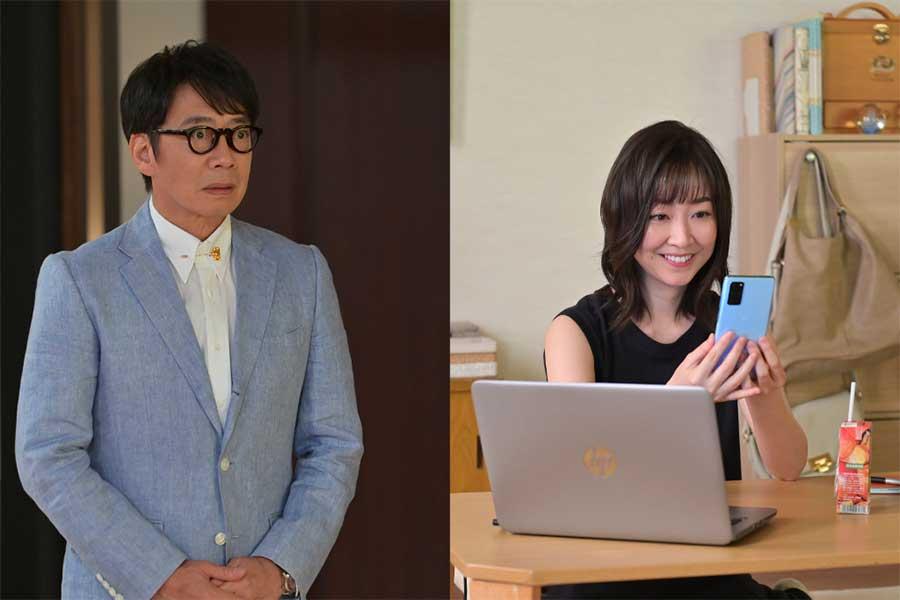 「着飾る恋には理由があって」に出演する生瀬勝久(左)と黒川智花【写真:(C)TBS】