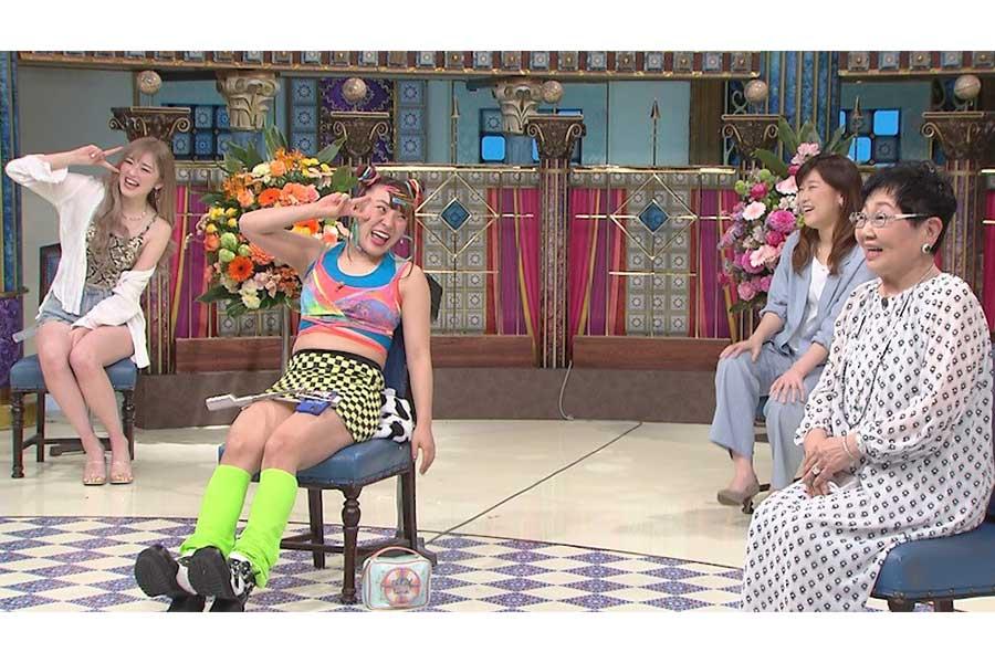 「踊る!さんま御殿!!」にフワちゃん、泉ピン子らが出演【写真:(C)日本テレビ】