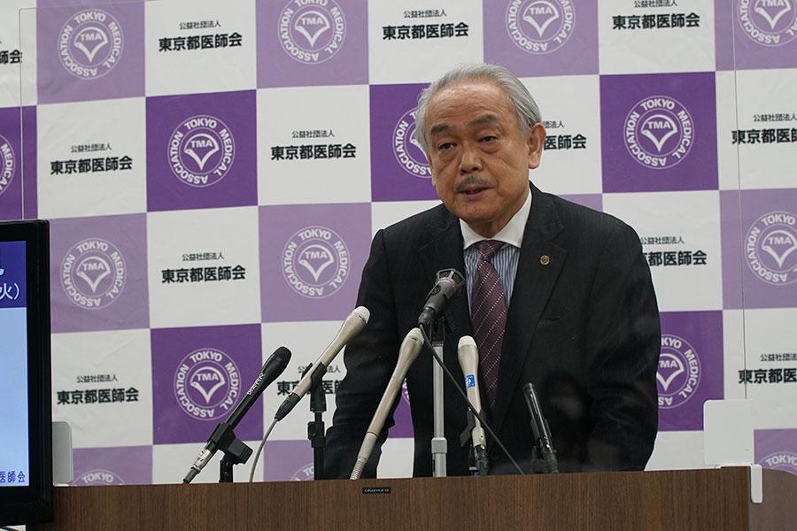 東京都医師会、ワクチン拒否の一部高齢者に接種呼びかけ「個人の問題でなく、社会全体に影響」