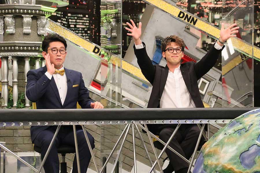 「全力!脱力タイムズ」に出演した竹内涼真とビビる大木【写真:(C)フジテレビ】