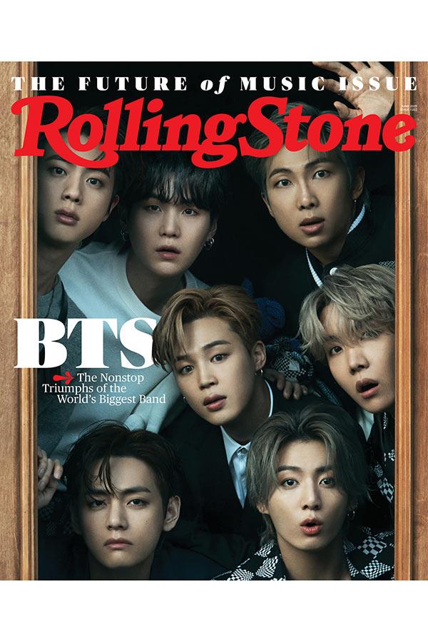 BTS、米音楽雑誌「ローリング・ストーン」の表紙に