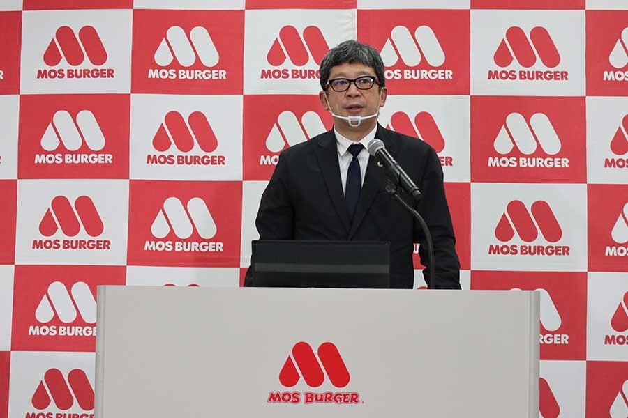 モスフードサービスの安藤芳徳マーケティング本部長
