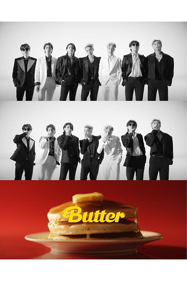 BTS「Butter」のティーザービジュアル【画像:(C)BIGHIT MUSIC】