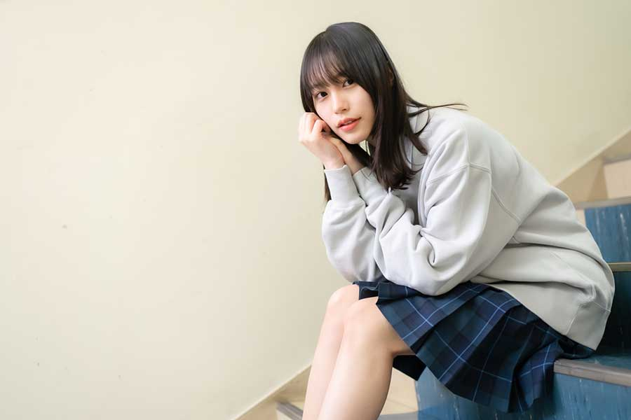 『ドラゴン桜』に出演している南沙良【写真:荒川祐史】