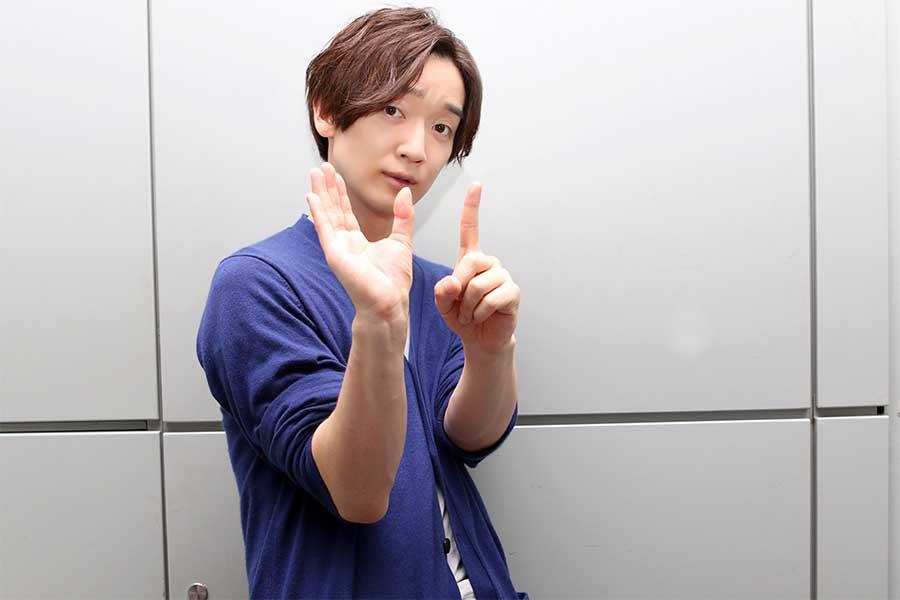 佐香智久は「SEPTは僕にとってのパワー」と熱い思いを口にする【写真:小田智史】