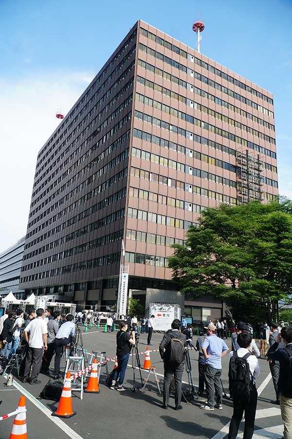 東京の大規模接種センター【写真:ENCOUNT編集部】