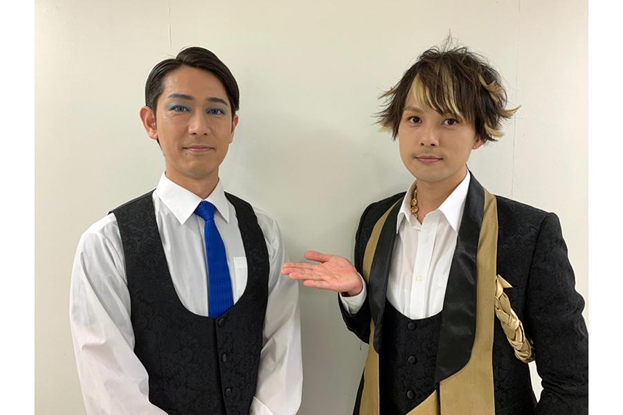 「SEPT」主催の杉浦タカオ(右)と演出のウチクリ内倉は8年来の仲【写真:SEPT】