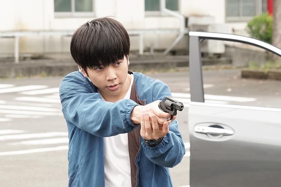 増田貴久、「黒髪刑事」の勇姿が帰ってくる【写真:(C)日本テレビ】
