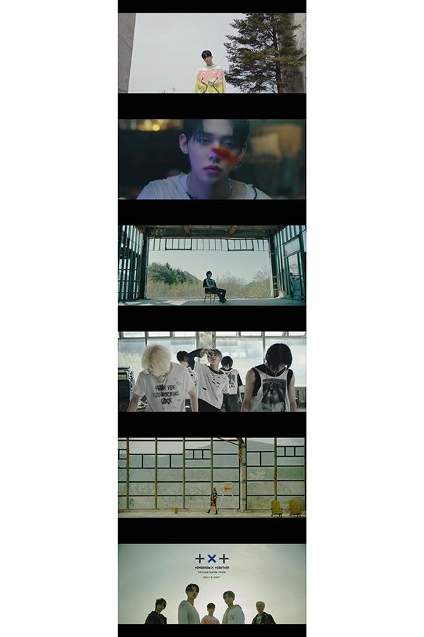 「TOMORROW X TOGETHER」新アルバムリード曲のティザー映像が公開