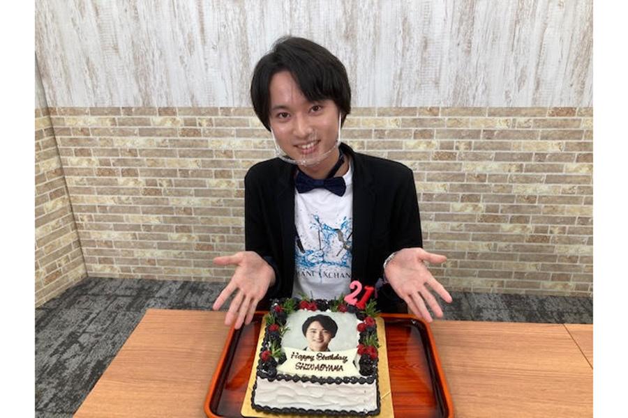 配信イベントを開催した演歌歌手の青山新