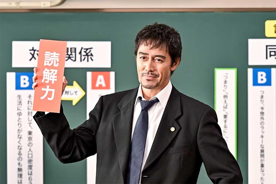 話題を集めている阿部寛主演ドラマ「ドラゴン桜」【写真:(C)TBS】