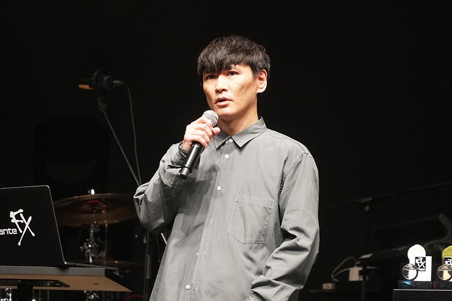 イベントに出席した「サカナクション」山口一郎【写真:ENCOUNT編集部】