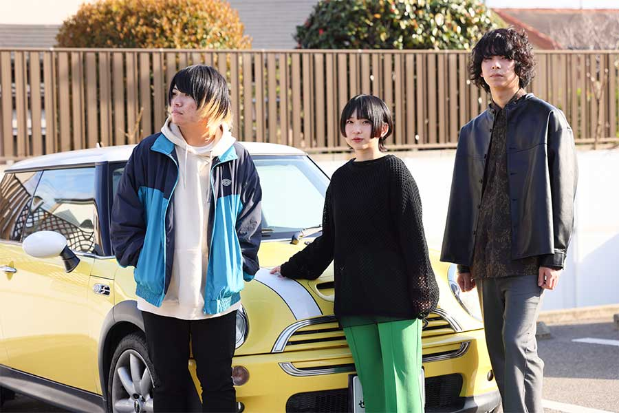 3人組バンドHakubi、ドラマ初出演が決定 乃木坂46久保史緒里の主演作の痛快サスペンス