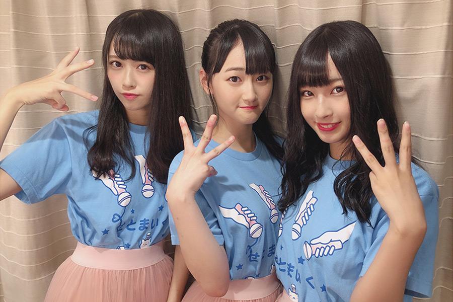 中村舞(左)を含めたドラフト3期生は、今後のSTU48の鍵を握る存在【写真:STU】