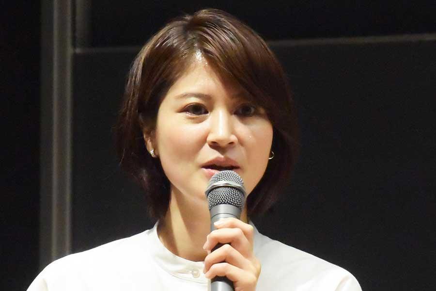 日本テレビの鈴江奈々アナウンサー【写真:ENCOUNT編集部】
