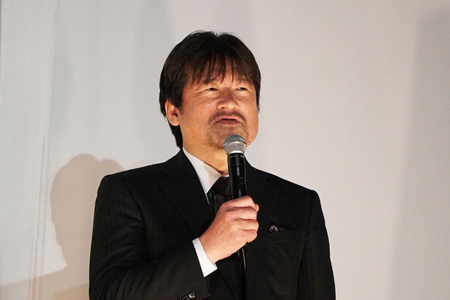 イベントに登壇した佐藤二朗【写真:ENCOUNT編集部】