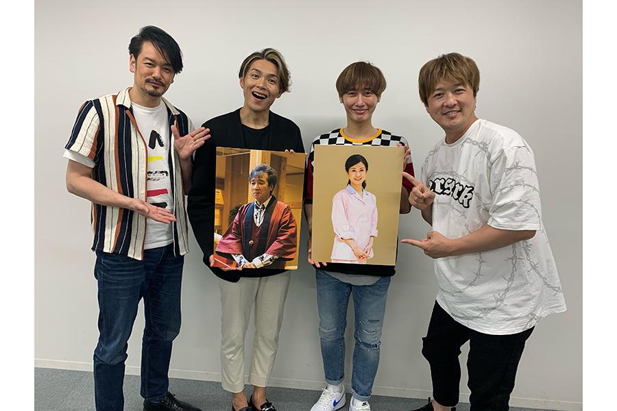 前川清&小林綾子、純烈の銀幕デビュー作品に出演決定 小林は成人後、初の特撮作品