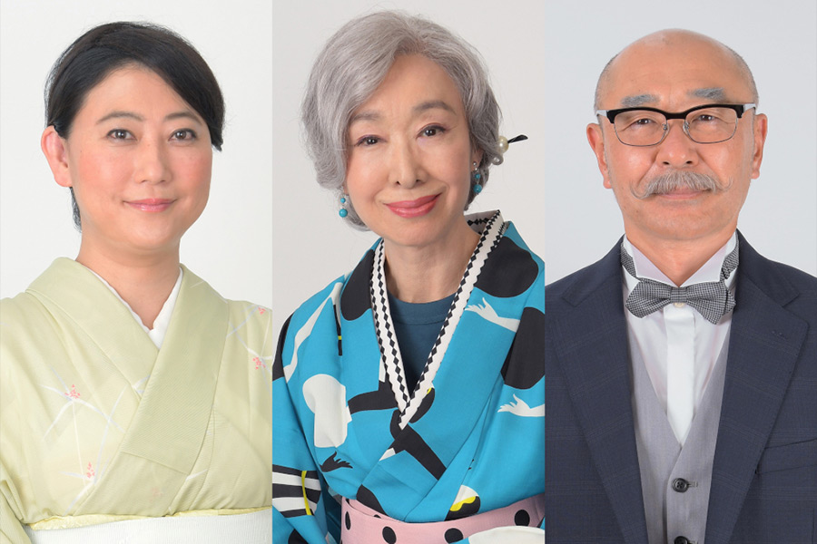 三田佳子、二階堂ふみとドラマ初共演「若い主人公たちとドラマを駆け抜けます」