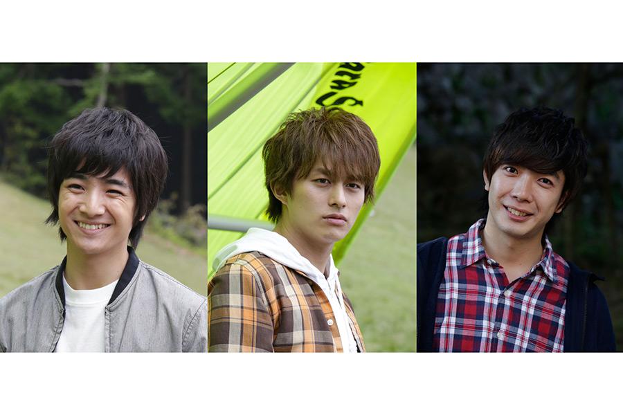 「BOYS AND MEN」(左から)本田剛文、小林豊、田村侑久【写真:(C)2020「ブルーヘブンを君に」製作委員会】