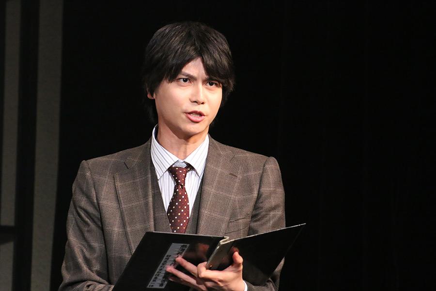 公開稽古に臨んだ多和田任益【写真:ENCOUNT編集部】