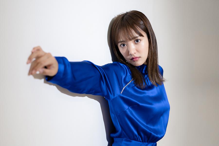 主人公を裏切る婚約者役を演じた夏菜【写真:荒川祐史】