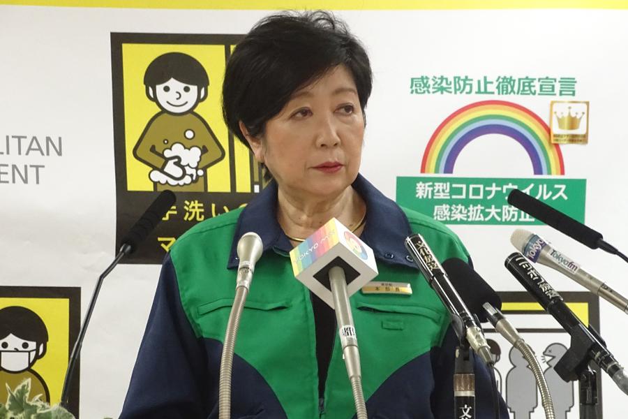 小池百合子都知事がマスコミ各社の報道姿勢に疑問を呈した【写真:ENCOUNT編集部】