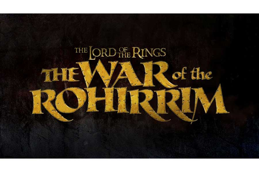 「The Lord of the Rings: The War of the Rohirrim」(原題)のロゴ
