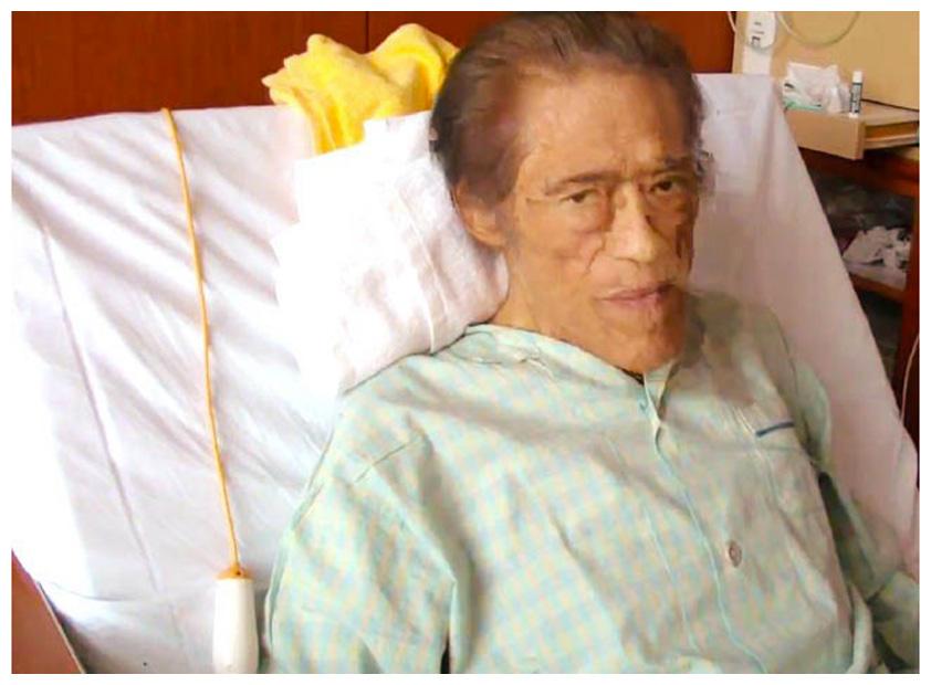手術を受けていたアントニオ猪木氏(6月11日撮影)【写真:コーラルゼット提供】