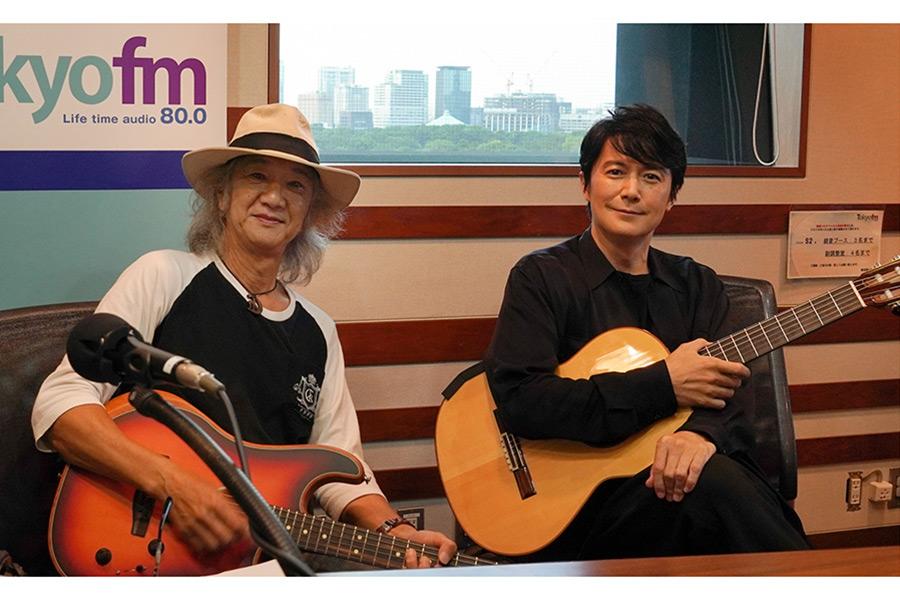 Char(左)と福山雅治のラジオ対談が実現