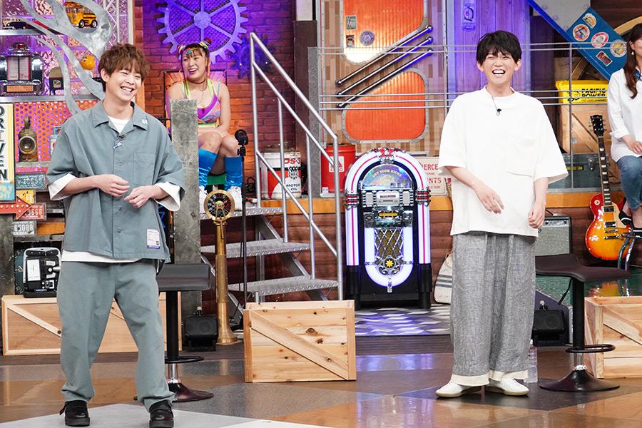 「ウチのガヤがすみません!」に有岡大貴(左)と松丸亮吾がゲスト出演【写真:(C)日本テレビ】