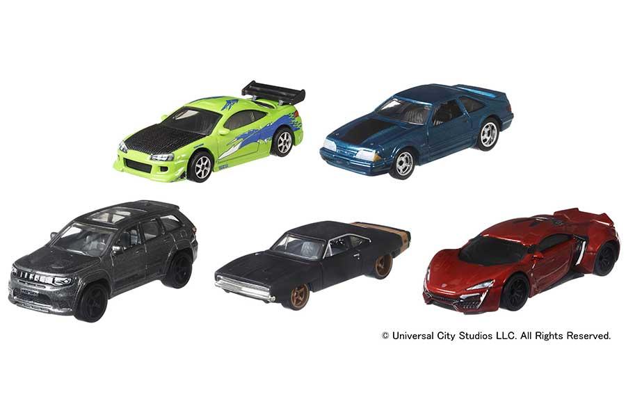 「ワイルド・スピード」最新作の劇中車をリアルに再現 車好きにはたまらない1台も