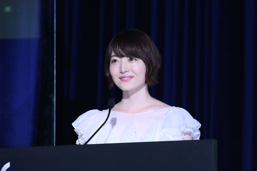MCを担当した花澤香菜【写真:ENCOUNT編集部】