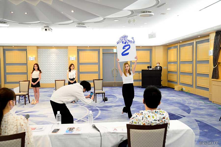 「RIZINガール2021」は美女ぞろい 6人の全身ショットを余すことなく公開