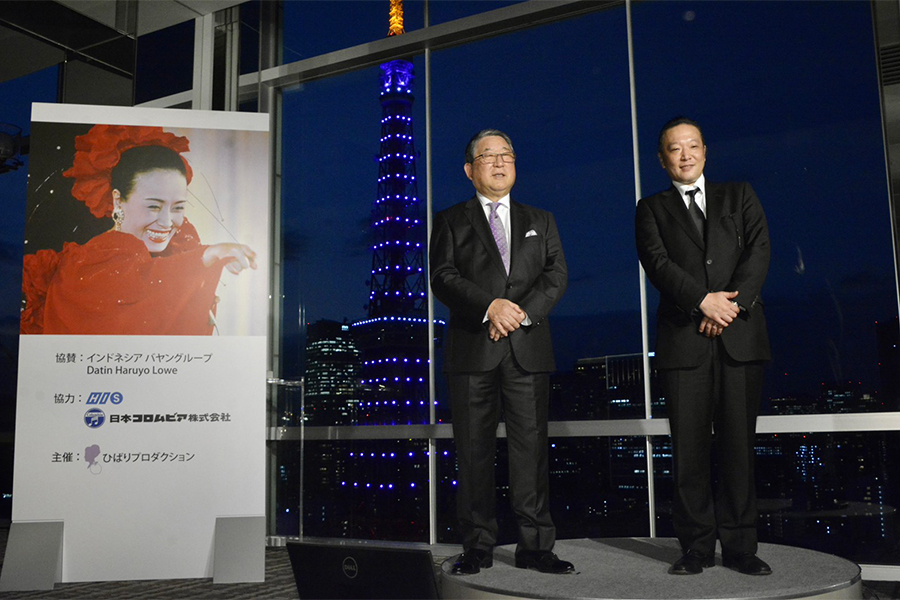 徳光和夫(左)と加藤和也氏【写真:ENCOUNT編集部】