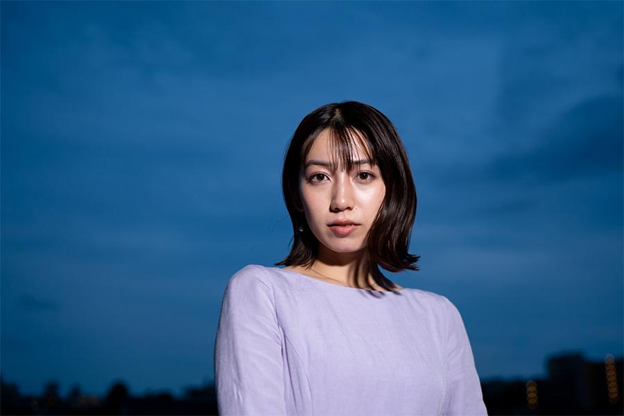 伝説の女優を演じた佐藤あいり【写真:荒川祐史】