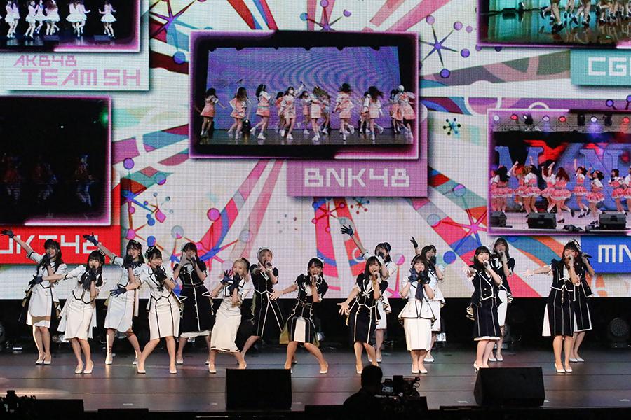 「AKB48 Group Asia Festival 2021 ONLINE」が開催された【写真:ENCOUNT編集部】