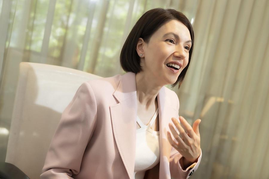 「笑っていいとも!」などで活躍したリサ・ステッグマイヤーさん【写真:山口比佐夫】