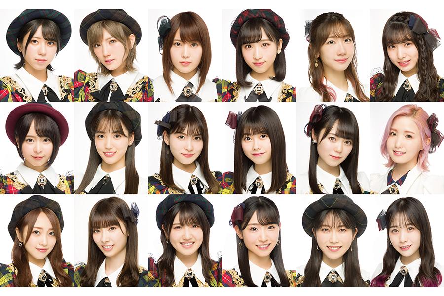 58枚目のシングル選抜メンバーが発表された【写真:(C)AKB48】