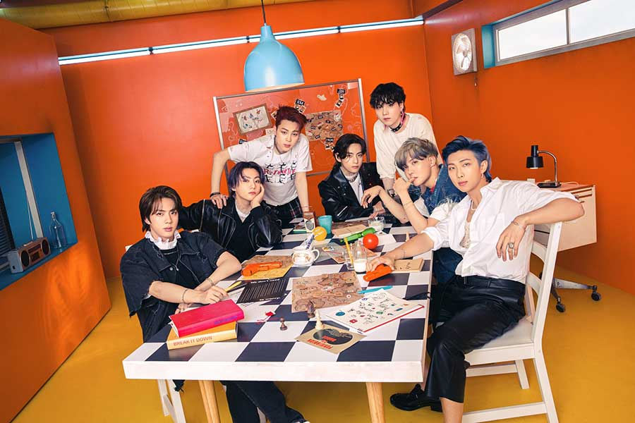 BTSが米ビルボード「HOT100」で6週連続1位に 【写真:(C) BIGHIT MUSIC】