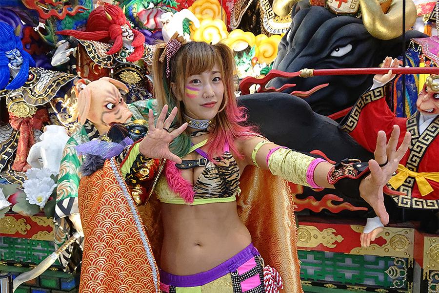 """【週末は女子プロレス♯5】「傾奇者」名乗るウナギ・サヤカ """"女・花の慶次""""がプロレスにのめり込んだワケ"""