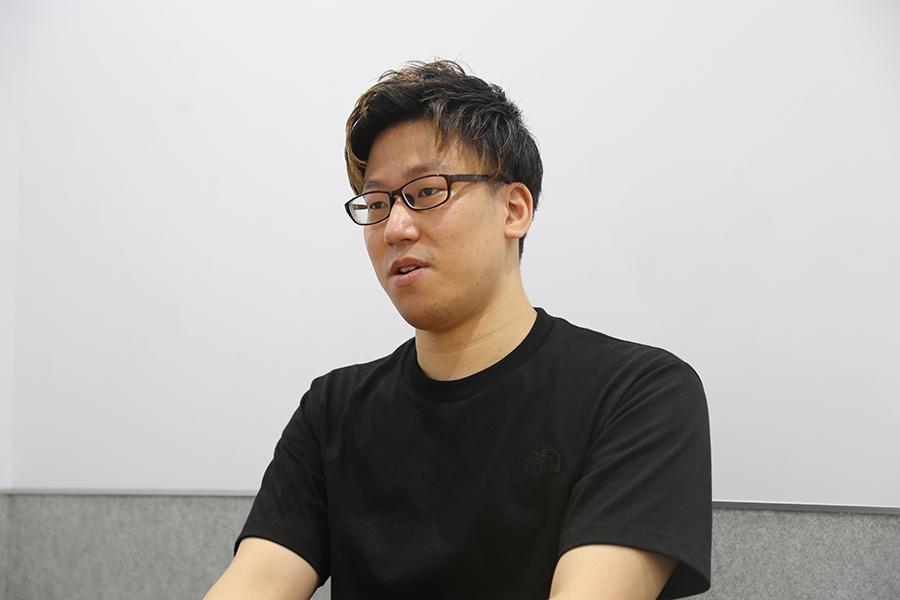 今年3月の麻雀プロテストに合格したRob【写真:ENCOUNT編集部】