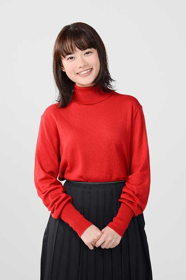 新ドラマ「恋です!~ヤンキー君と白杖ガール~」の主演に決定した杉咲花【写真:(C)日本テレビ】