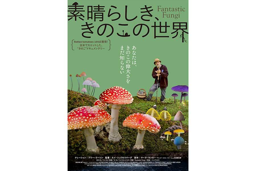 映画「素晴らしき、きのこの世界」9月24日より公開 米・映画批評サイトでは100点を獲得