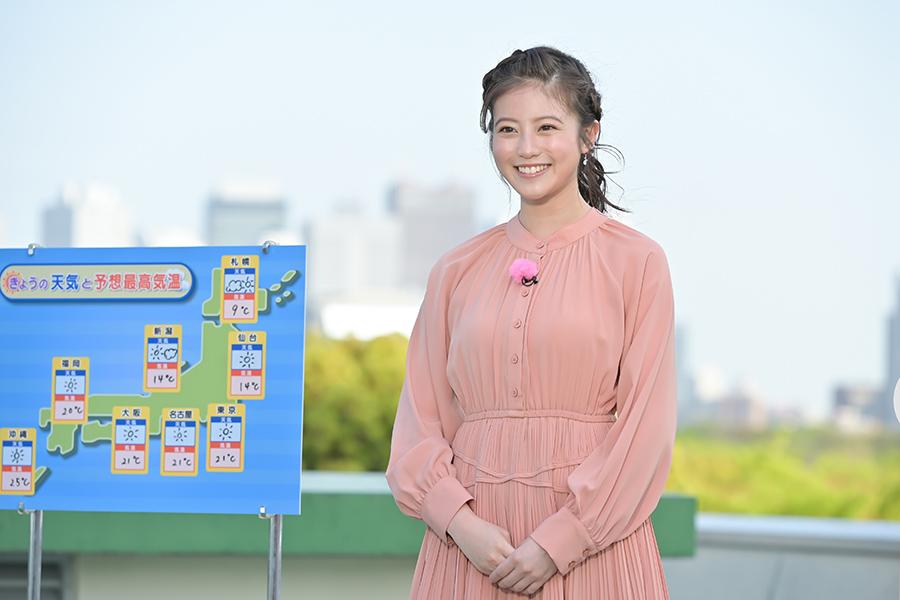 神野マリアンナ莉子役で出演する今田美桜【写真:(C)NHK】