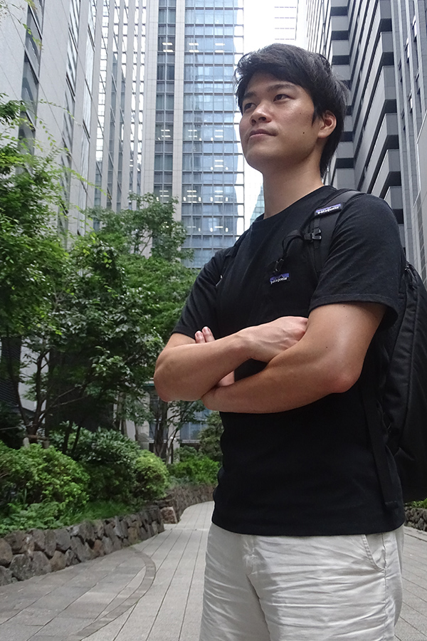 「KOTOWARI 会津サマースクール」の主催者・青木光太郎氏【写真:ENCOUNT編集部】