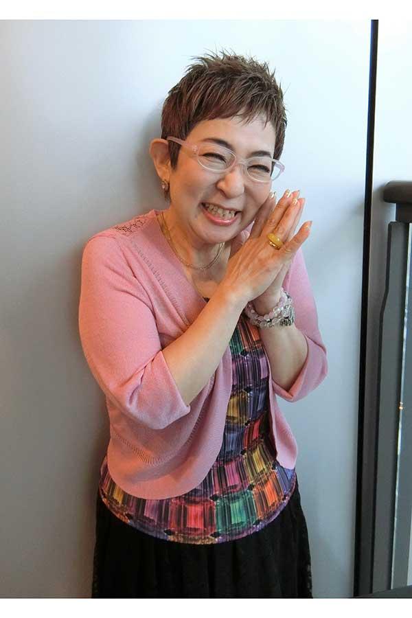 インタビューに応じた菊田あや子さん【写真:ENCOUNT編集部】